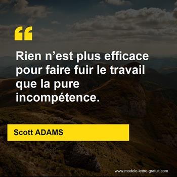 Citations Scott ADAMS