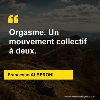 Citations Francesco ALBERONI
