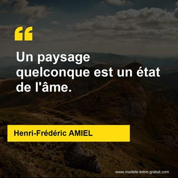 Citations Henri-Frédéric AMIEL