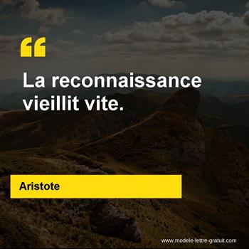 Citations Aristote