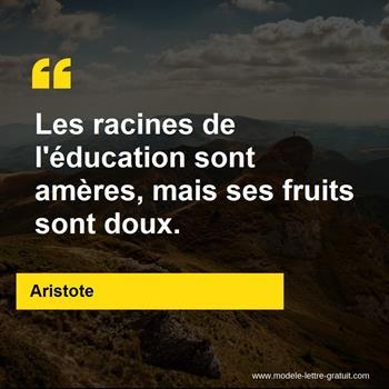 Citations Aristote