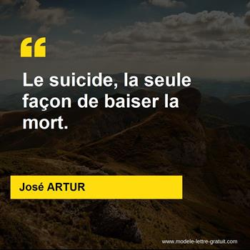 Citations José ARTUR