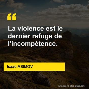 Citations Isaac ASIMOV