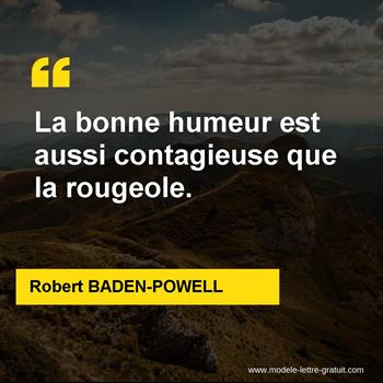 Citations Robert BADEN-POWELL