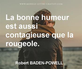 Citation de Robert BADEN-POWELL