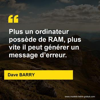 Citations Dave BARRY