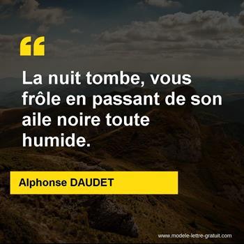 Citations Alphonse DAUDET