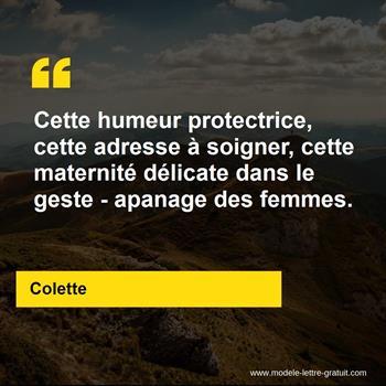 Citations Colette