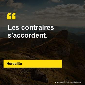 Citations Héraclite