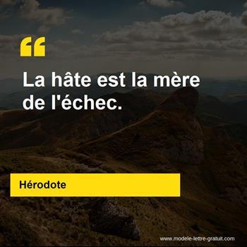 Citations Hérodote