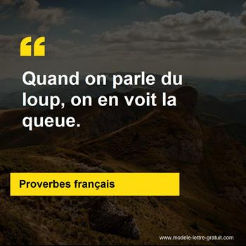 Citations Proverbes français
