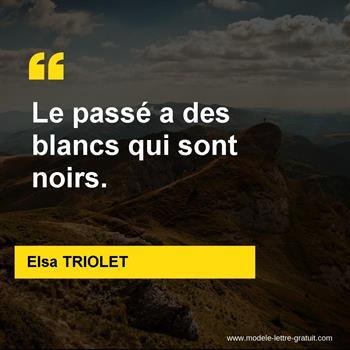 Citations Elsa TRIOLET