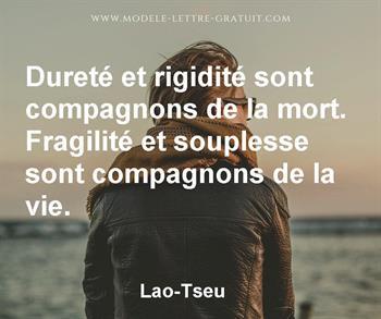 Citation de Lao-Tseu
