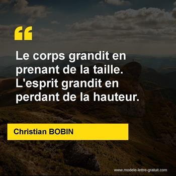 Citations Christian BOBIN