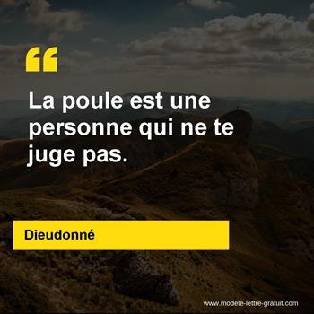 Citations Dieudonné