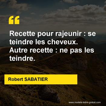 Citations Robert SABATIER