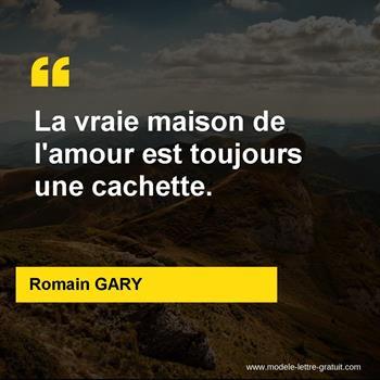 Citations Romain GARY