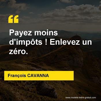 Citations François CAVANNA