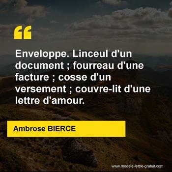 Citations Ambrose BIERCE