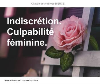 Citation de Ambrose BIERCE