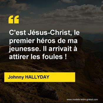 Citations Johnny HALLYDAY