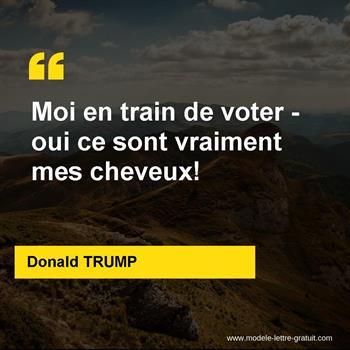 Citations Donald TRUMP