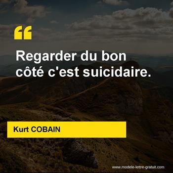 Citations Kurt COBAIN