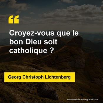 Citations Georg Christoph Lichtenberg