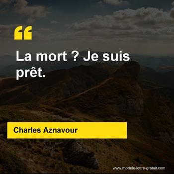 Citations Charles Aznavour
