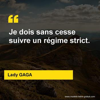 Citations Lady GAGA