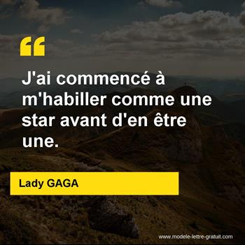 Citations Lady GAGA