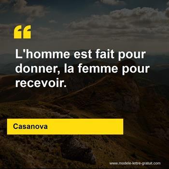 Citations Casanova
