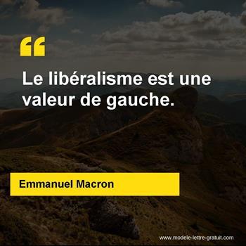 Citations Emmanuel Macron