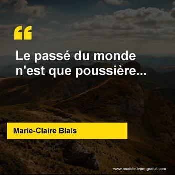 Citations Marie-Claire Blais