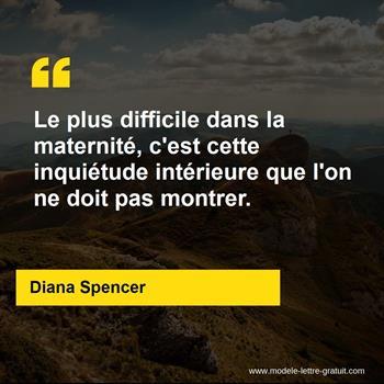 Citations Diana Spencer