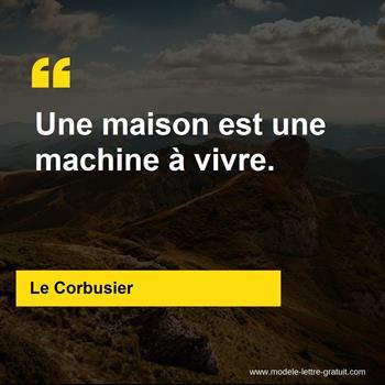 Citations Le Corbusier