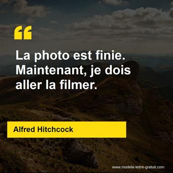 Citations Alfred Hitchcock