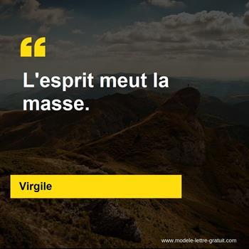 Citations Virgile