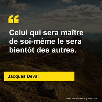 Citations Jacques Deval