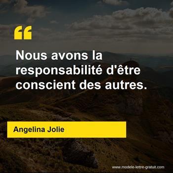 Citations Angelina Jolie