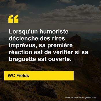 Citations WC Fields