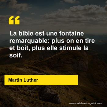 Citations Martin Luther