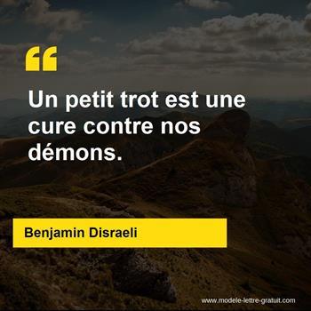 Citations Benjamin Disraeli