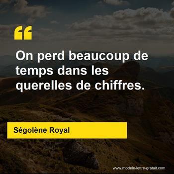 Citations Ségolène Royal