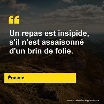 Citations Érasme