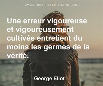 Citation de George Eliot