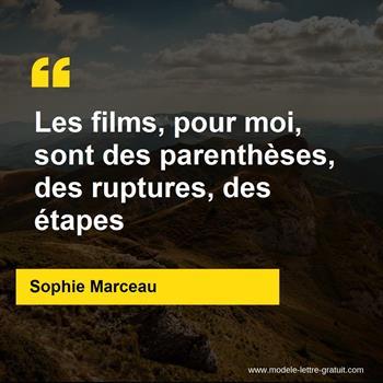 Citations Sophie Marceau