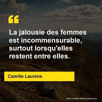 La Jalousie Des Femmes Est Incommensurable Surtout Lorsqu
