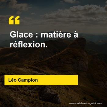 Citations Léo Campion