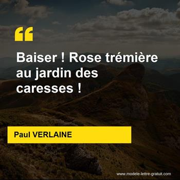 Citations Paul VERLAINE